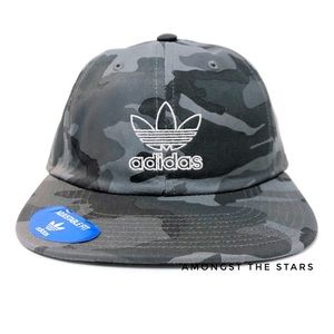 adidas Grey Camo Camouflage Unstructured Hat Cap